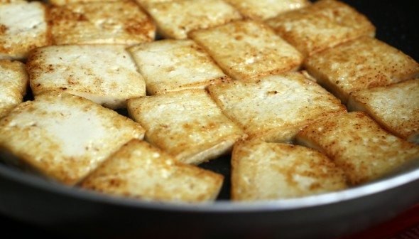 pan-fried tofu