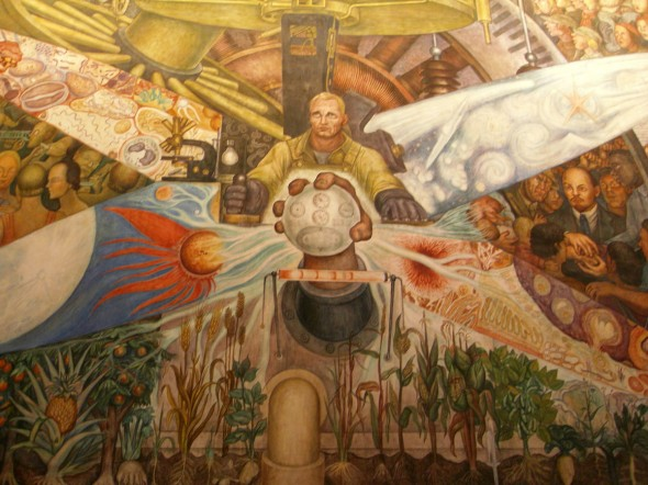 Mexico you are so colorful for Diego rivera mural at rockefeller center