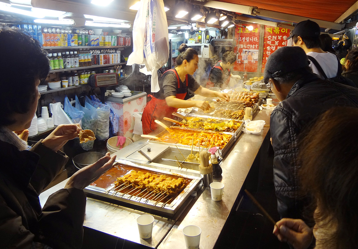 Korean Street Snack Food