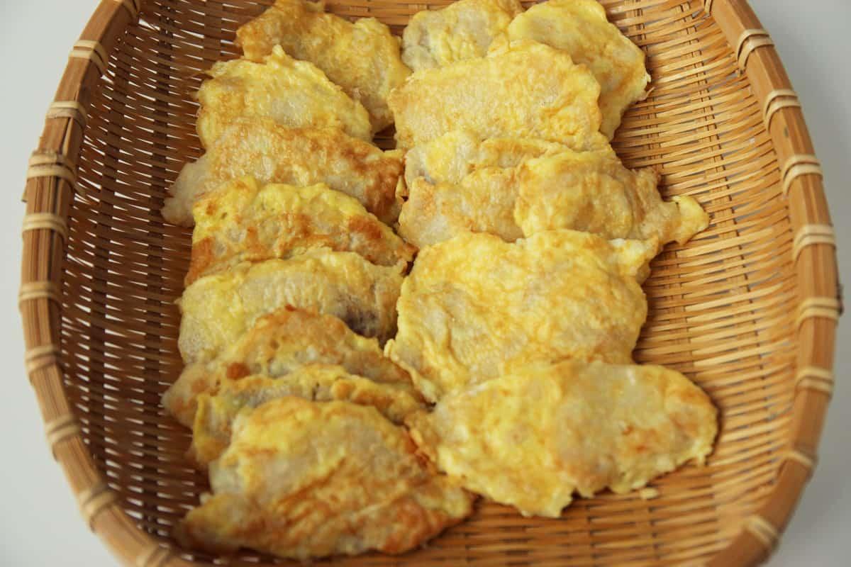 Breaded Cod Fillets Daegujeon Recipe Maangchi Com