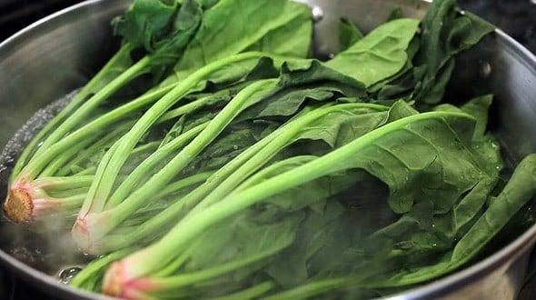 gimbap spinach