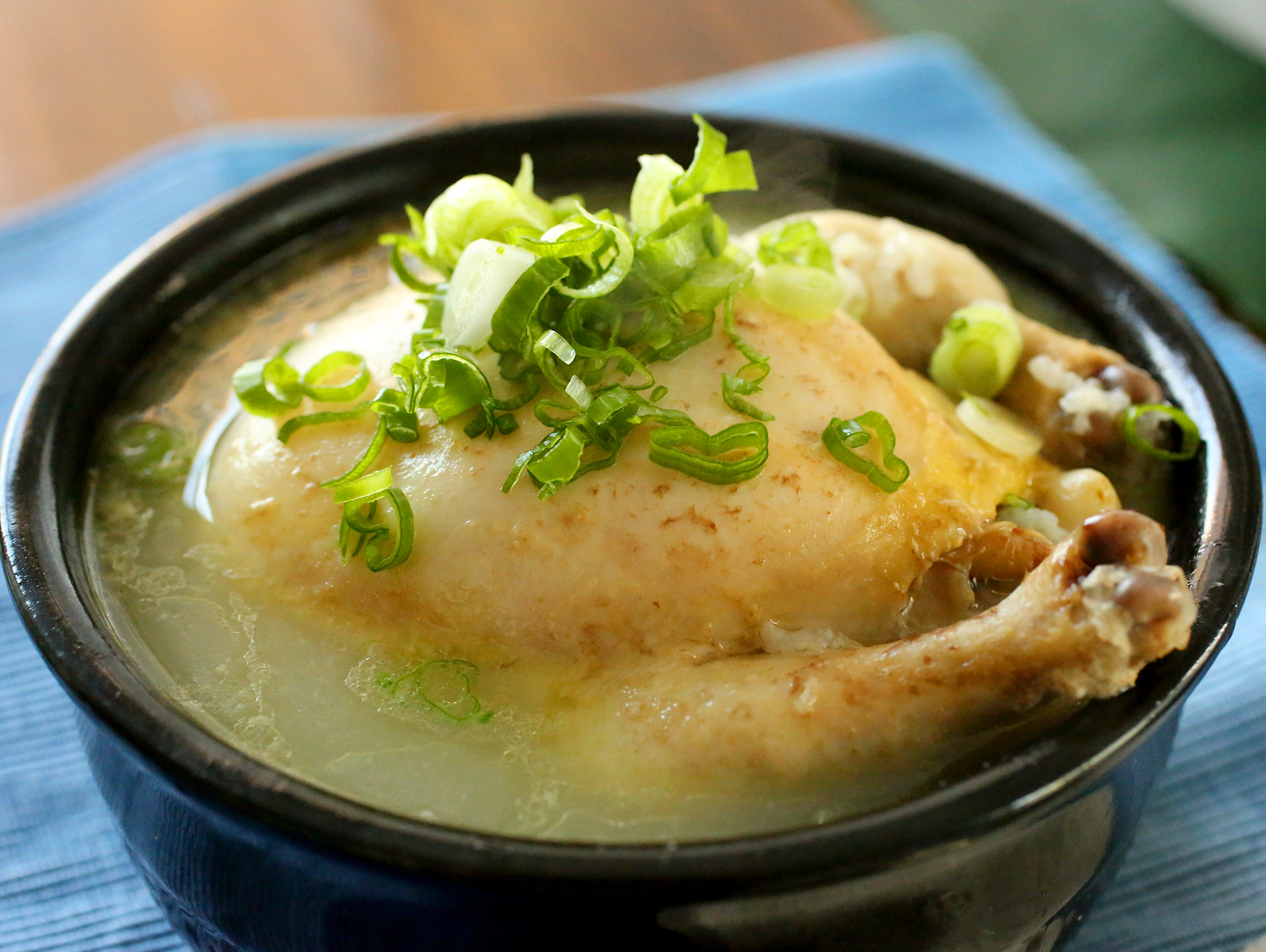 Ginseng chicken soup samgyetang recipe maangchi samgyetang forumfinder Image collections