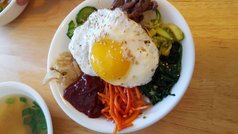 how to cook korean bibimbap