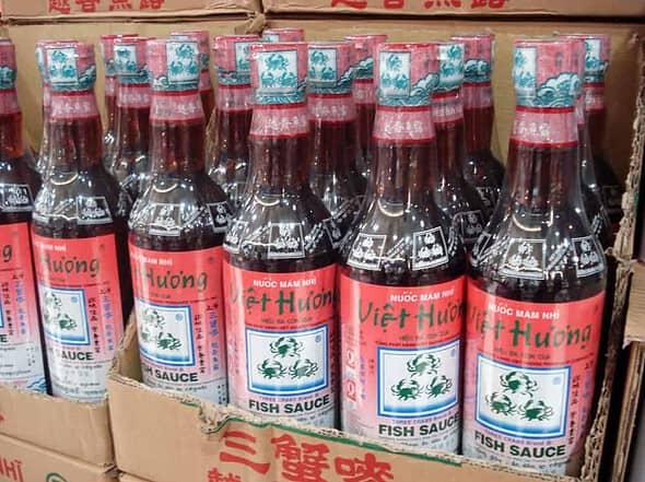 3 crabs fish sauce