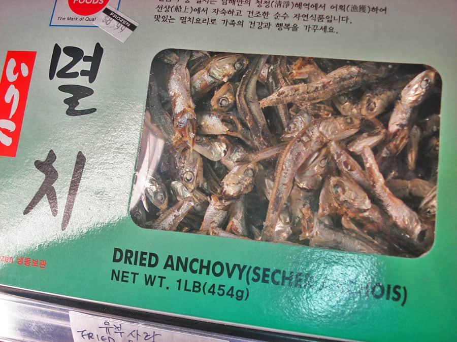 Dried Anchovies Mareun Myeolchi Korean Cooking