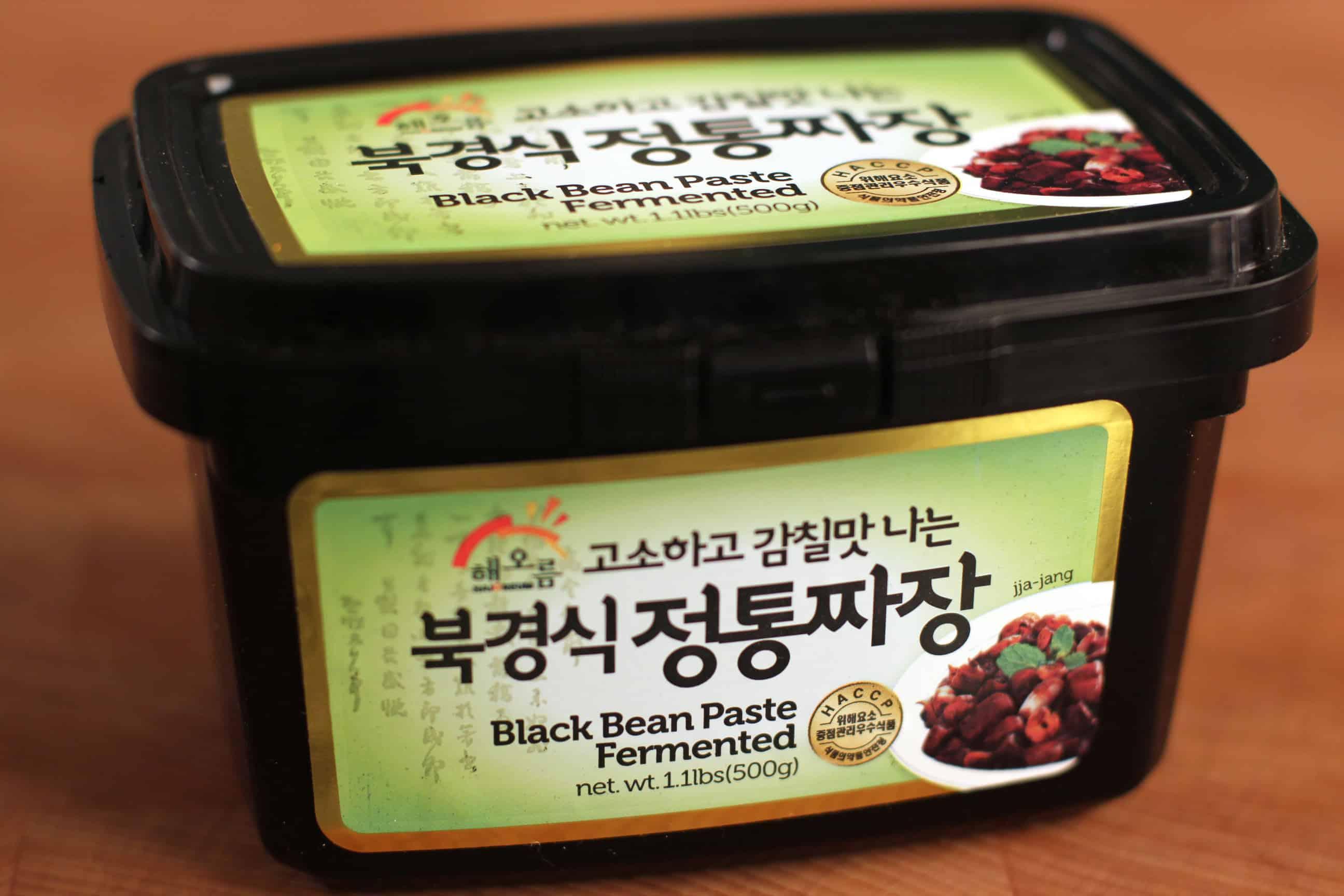 Black bean paste (Chunjang) - Korean cooking ingredients - Maangchi ...