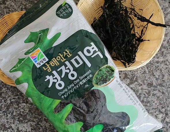 Dried Miyeok (마른 미역: Seaweed