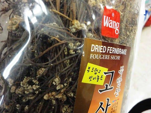 dried fernbrake