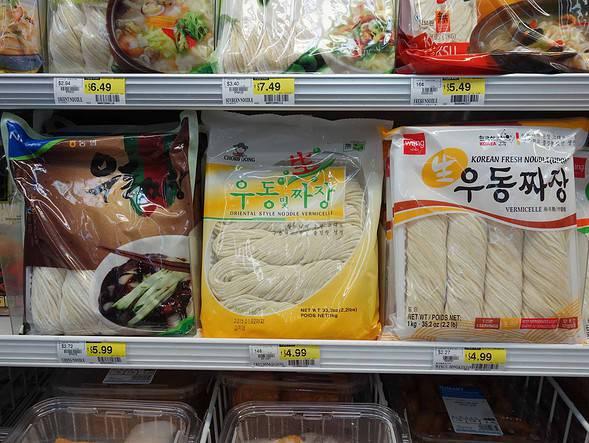 jjajangmyeon noodles
