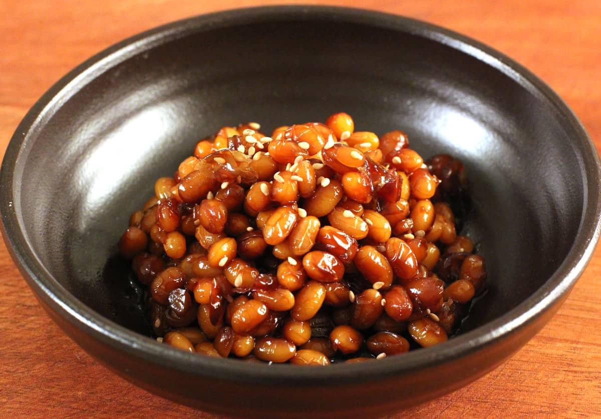 Braised Soybeans Kongjorim Recipe Maangchi Com