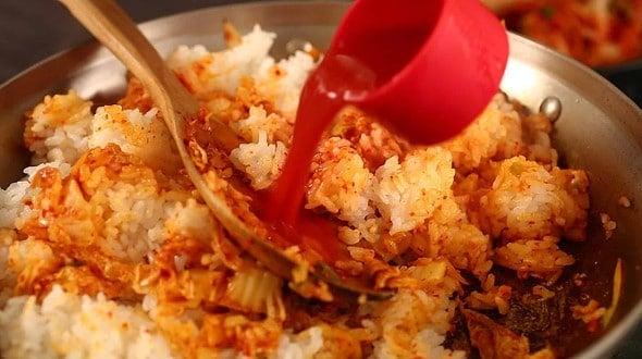 add kimchi juice