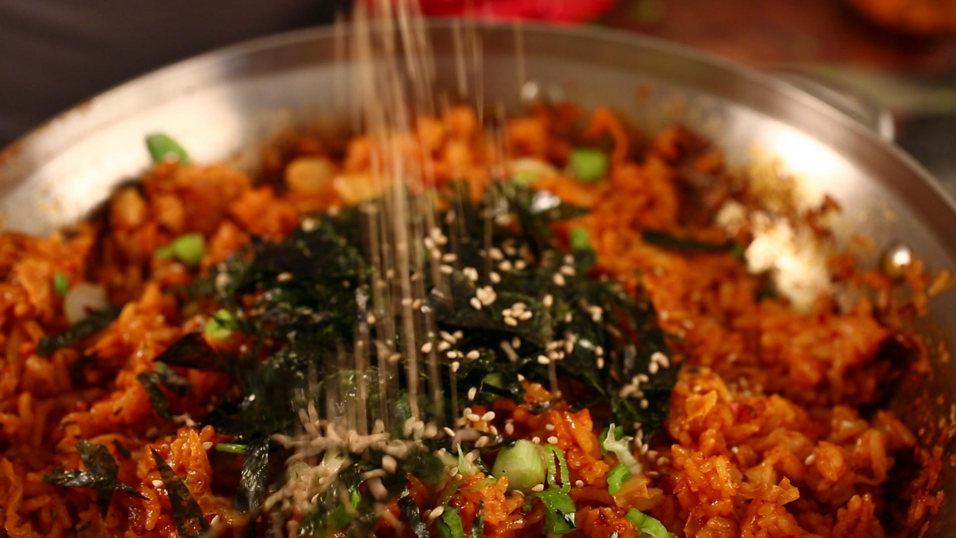 Kimchi Fried Rice Kimchi Bokkeumbap Recipe Maangchi Com