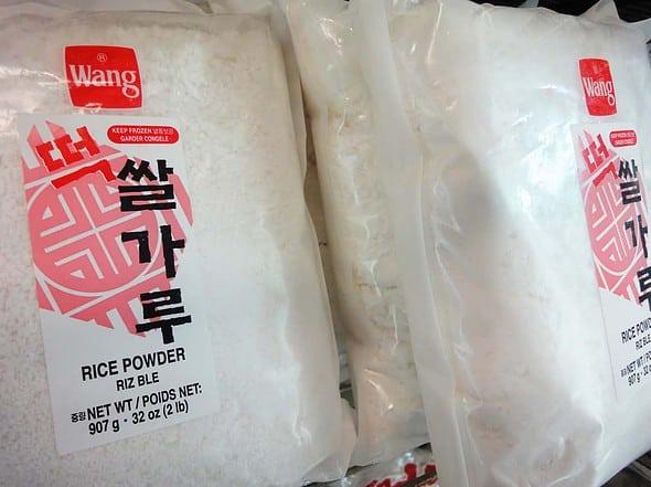 frozen rice flour