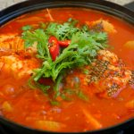 Maeuntang (spicy fish stew)