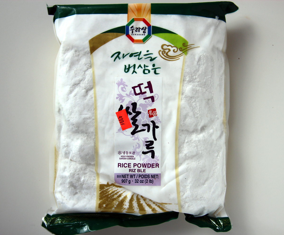 Frozen short grain rice flour Naengdong maepssalgaru Korean