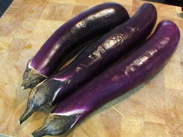 Korean eggplant