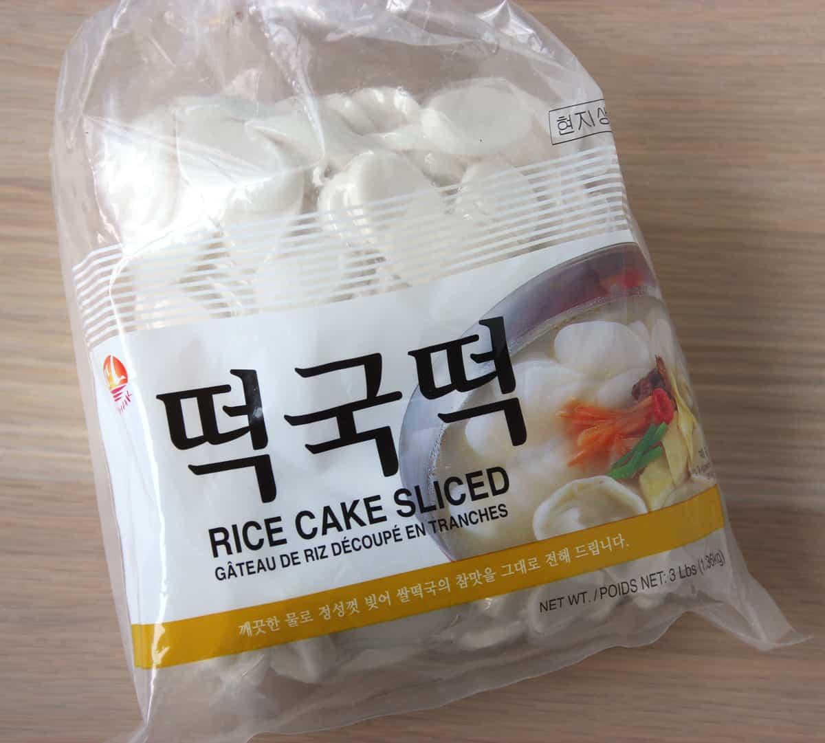 Rice Cake For Ddeokguk