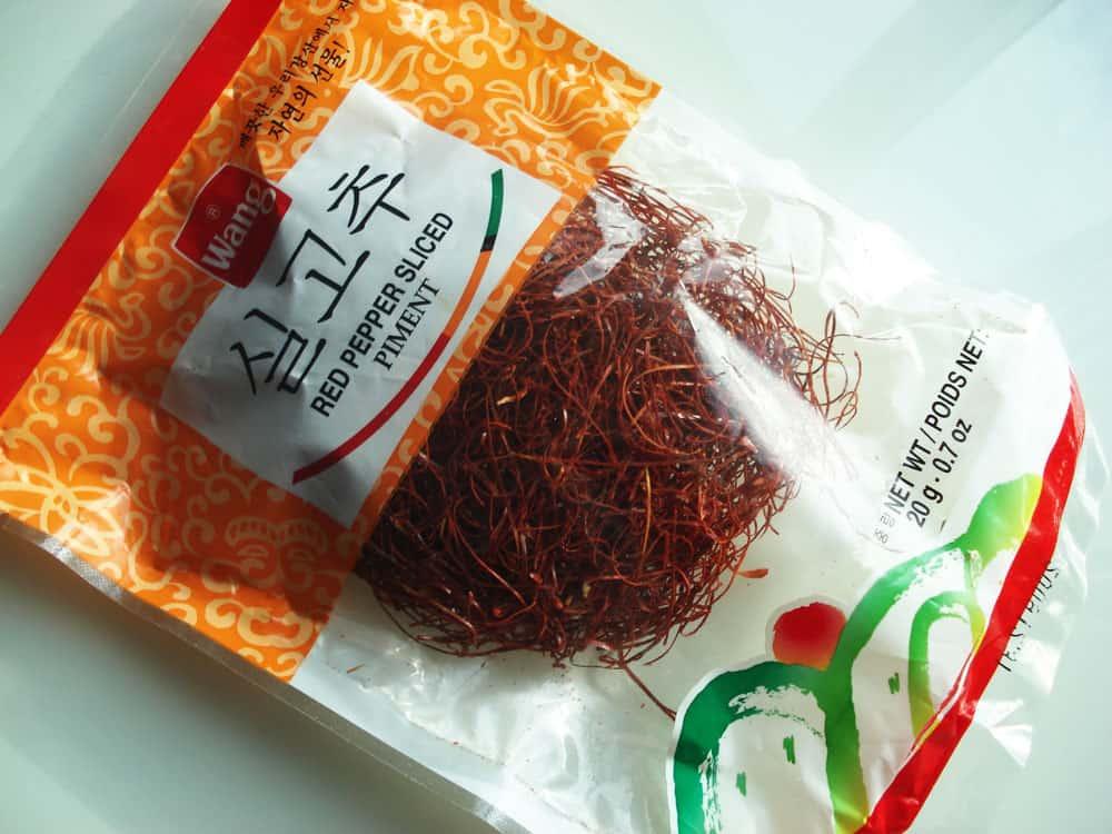 Shredded red pepper silgochu korean cooking for Take me fishing org