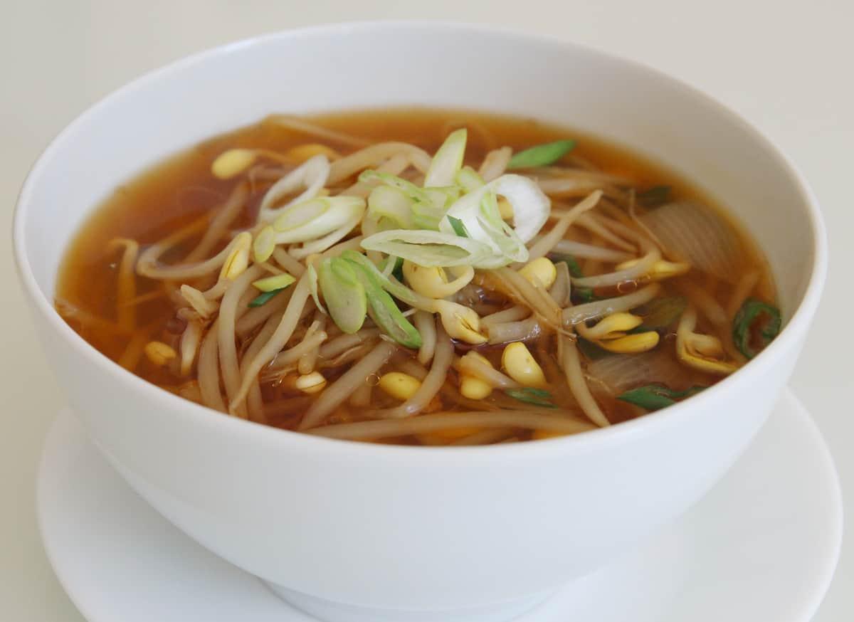 Soybean Sprout Soup Kongnamulguk Recipe Maangchi Com