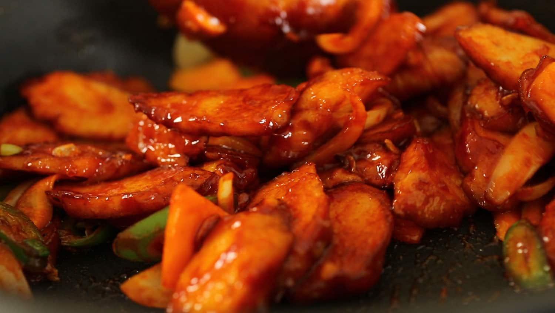 how to cook korean fried fish cake