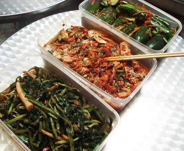 3 kinds of kimchi!