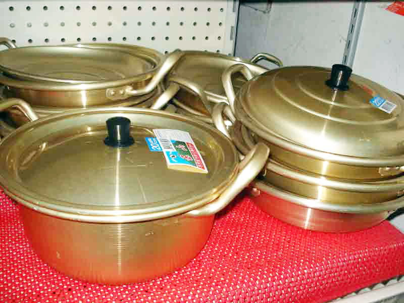 Korean tin pot