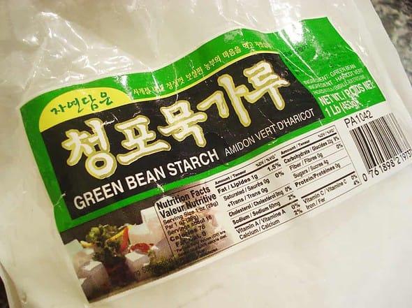 Mung bean jelly starch powder
