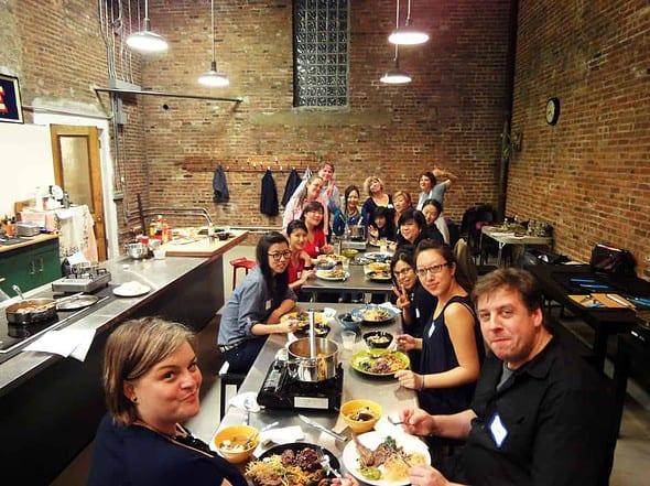 my april 22 2010 korean cooking class in new york maangchi com