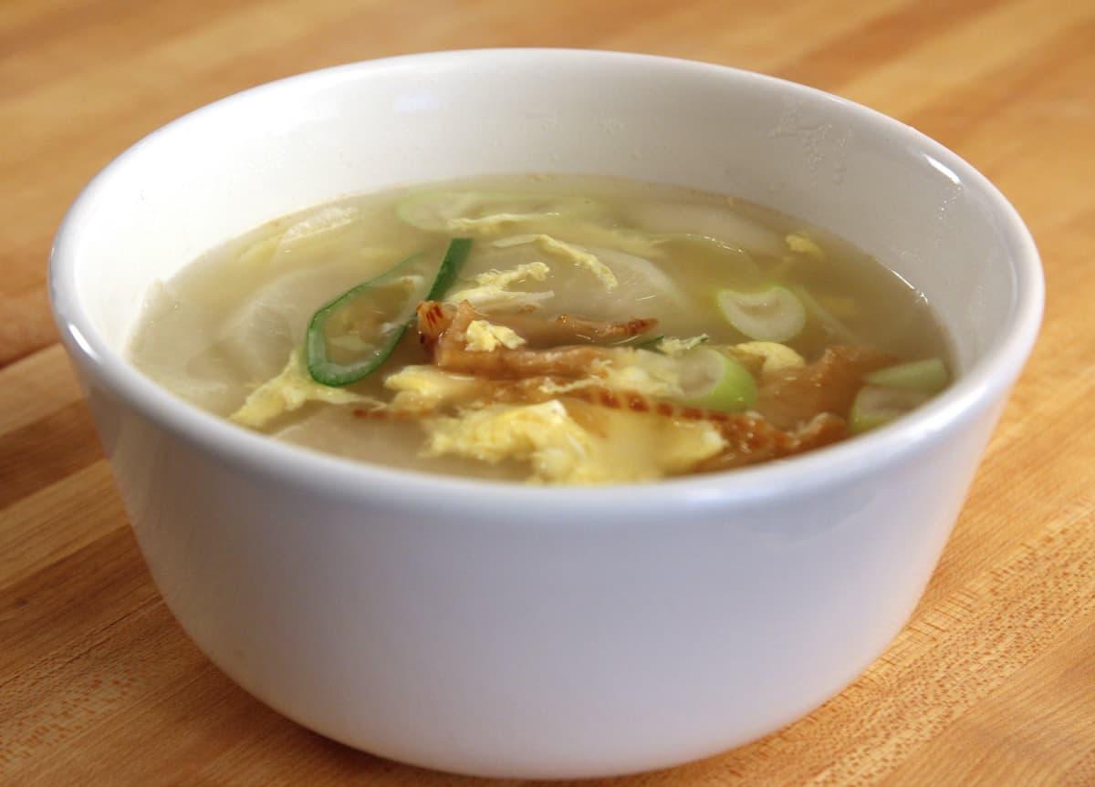 Dried pollock soup bugeoguk recipe maangchi serve forumfinder Gallery