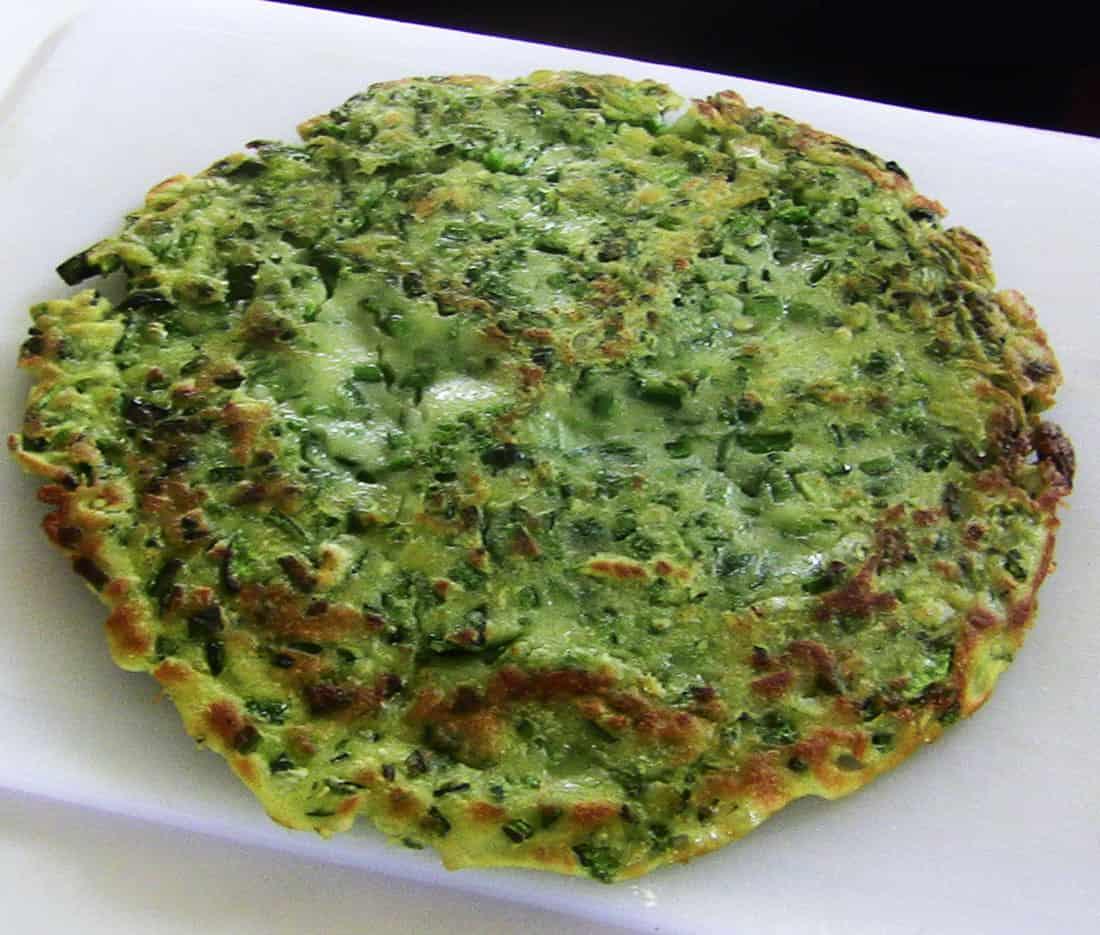 Green Chili Pepper Pancake Gochujeon Recipe Maangchi Com