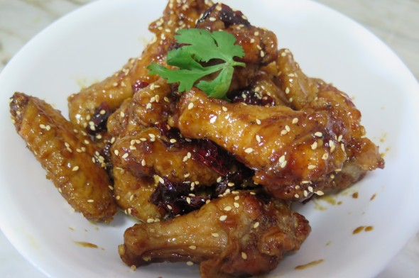 Korean Crunchy Fried Chicken