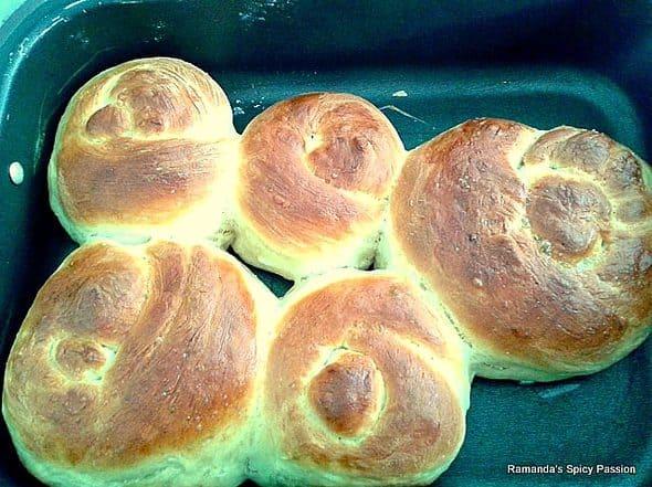 Bread rolls Roll-ppang 롤빵