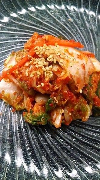 Fresh Mak-kimchi