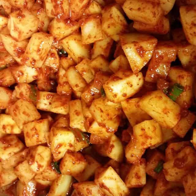 Emergency  Kkakdugi   radish kimchi   lol