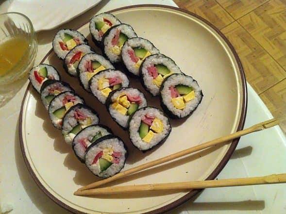 Gimbab:김밥