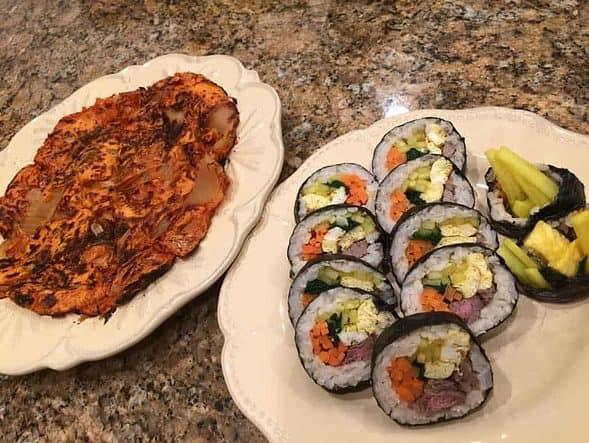 Girl's Night Korean Dinner