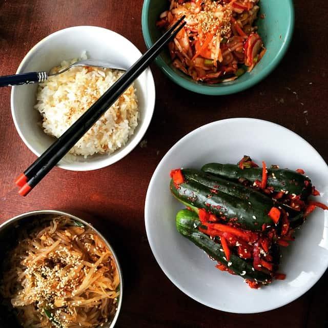 Korean Banchan Lunch!