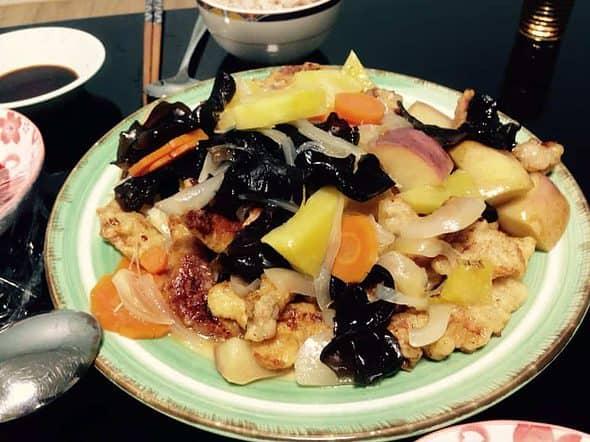 My first success in Korean Food - Tangsuyuk