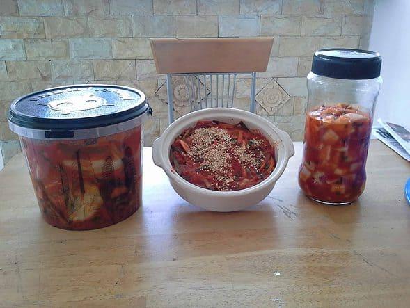 napa & radish kimchi