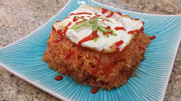Kimchi-bokkeumbap김치볶음밥