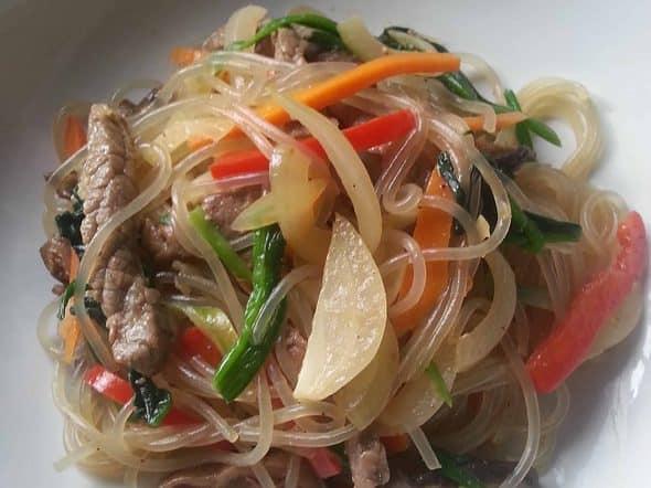 Japchae my favourite side dish