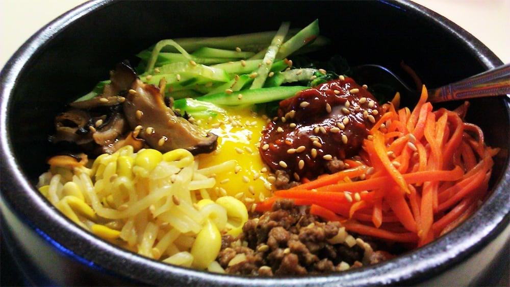 Korean food photo bibimbap for About korean cuisine