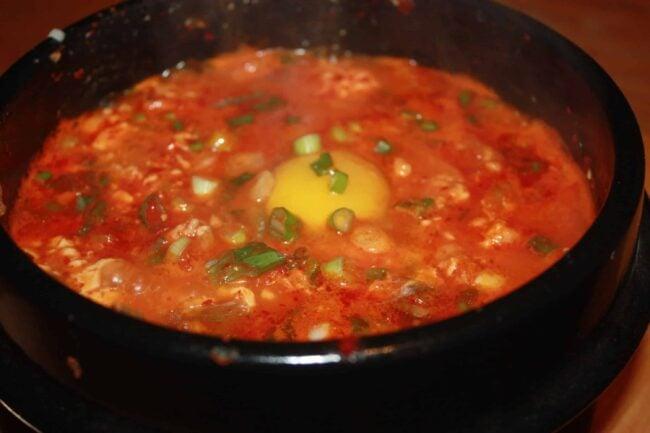 My first Kimchi Sundubu-JJigae