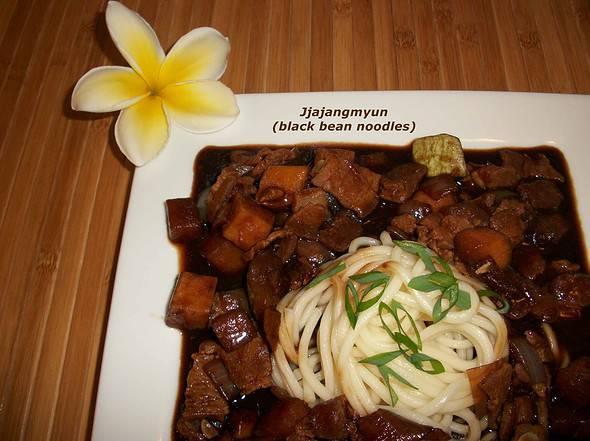 Korean food photo jjajangmyun maangchi jjajangmyun forumfinder Image collections