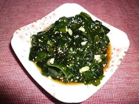Sea plant salad