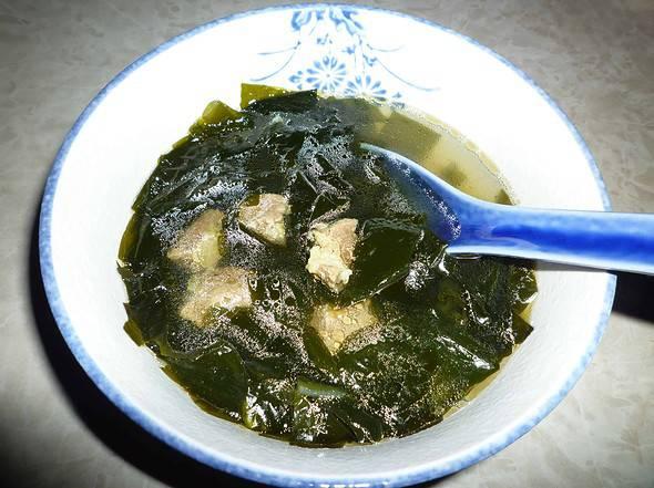 Sea plant soup