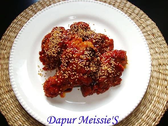 Seasoned-Frid-Chicken'S-Kor