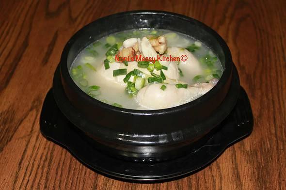 삼계탕 (Samgyetang) - Ginseng Chicken Soup