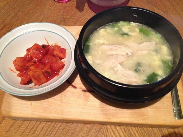 My wonderful Chicken Porridge :)
