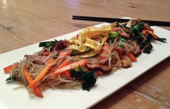 Our japchae revelation!